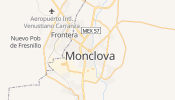 Mapa online de Monclova