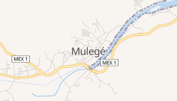 Mapa online de Mulegé