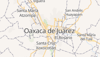 Mapa online de Oaxaca de Juárez