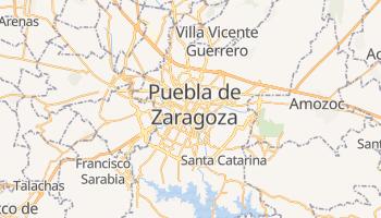 Mapa online de Puebla