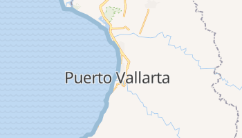 Mapa online de Puerto Vallarta