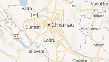 Mapa online de Kishinev