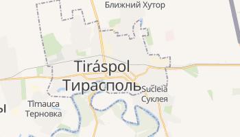 Mapa online de Tiráspol