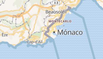 Mapa online de Mónaco