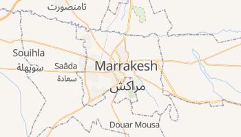 Mapa online de Marrakech