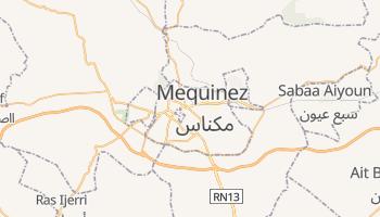 Mapa online de Mequinez