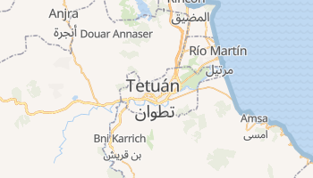 Mapa online de Tetuán