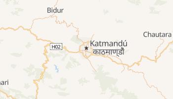 Mapa online de Katmandú