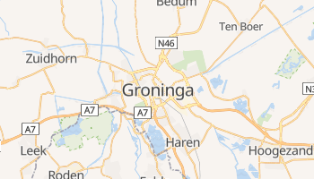 Mapa online de Groninga