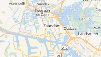 Mapa online de Zaandam