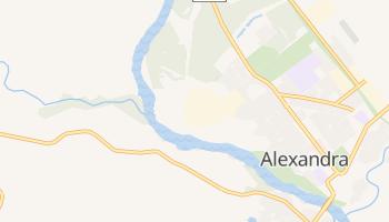 Mapa online de Alexandra