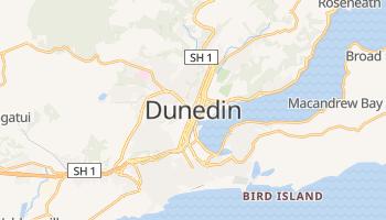 Mapa online de Dunedin