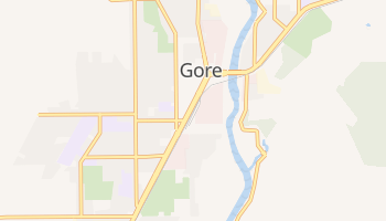 Mapa online de Gore