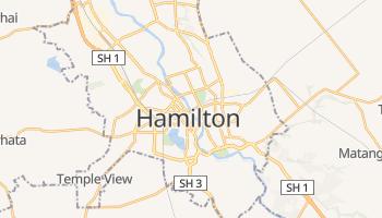 Mapa online de Hamilton