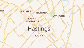 Mapa online de Hastings