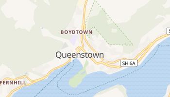 Mapa online de Queenstown