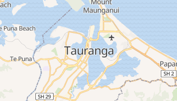 Mapa online de Tauranga