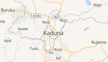 Mapa online de Kaduna