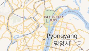 Mapa online de Pyongyang