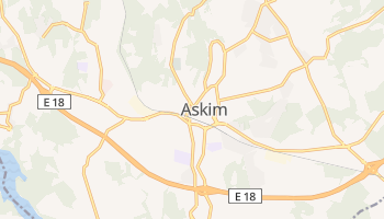 Mapa online de Askim