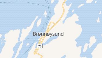 Mapa online de Brønnøysund