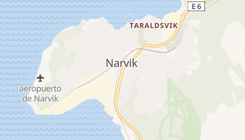 Mapa online de Narvik