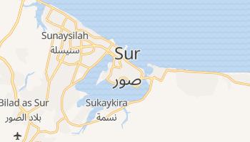 Mapa online de Sur