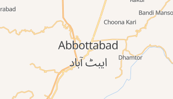 Mapa online de Abbottabad