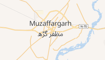 Mapa online de Muzaffargarh
