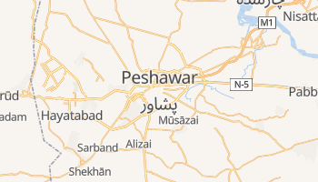 Mapa online de Peshawar