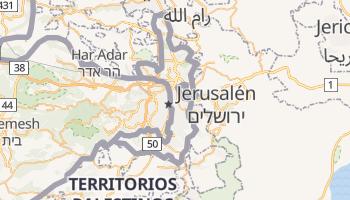 Mapa online de Jerusalén Este