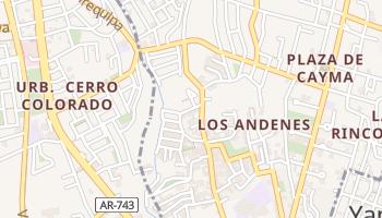 Mapa online de Distrito de Cayma