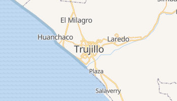 Mapa online de Trujillo