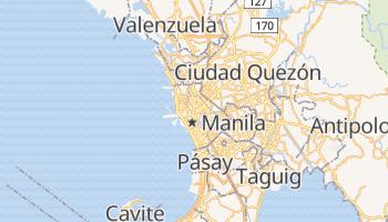 Mapa online de Manila