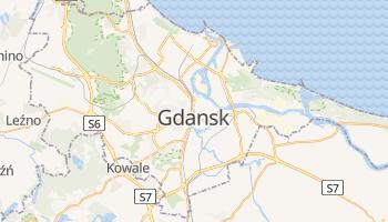 Mapa online de Danzig