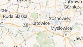 Mapa online de Katowice