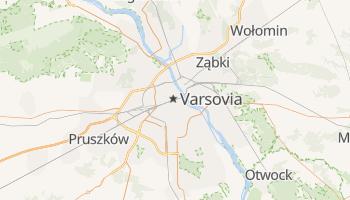 Mapa online de Varsovia