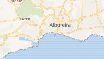 Mapa online de Albufeira