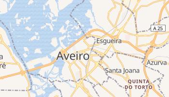 Mapa online de Aveiro