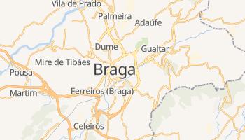 Mapa online de Braga