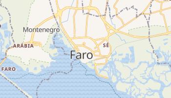 Mapa online de Faro