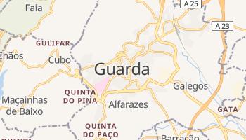 Mapa online de Guarda