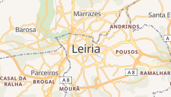 Mapa online de Leiria