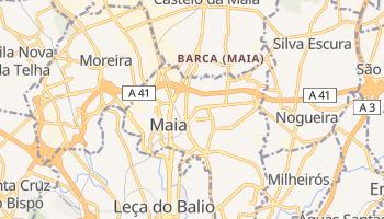 Mapa online de Maia