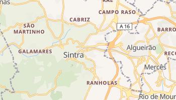 Mapa online de Sintra