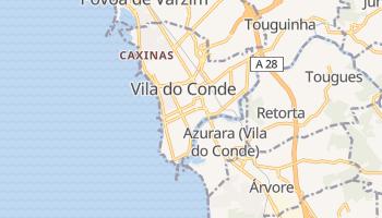 Mapa online de Vila do Conde
