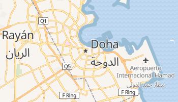 Mapa online de Doha