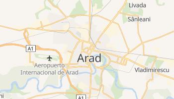 Mapa online de Arad