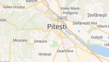 Mapa online de Piteşti