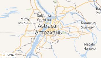 Mapa online de Astracán